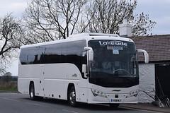 YX19MLY  Lakeside, Ellesmere (highlandreiver) Tags: yx19mly yx19 mly lakeside coaches ellesmere plaxton bus coach gretna green