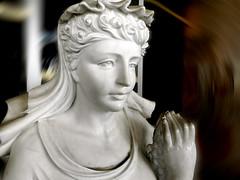Mother of Heaven, Hustler Casino (EmperorNorton47) Tags: gardena california hustlercasino poker casino statue chinese motionblur paintshoppro sfx