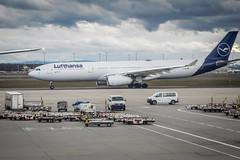 Lufthansa Airbus A330-300 - FRA Airport Frankfurt Germany (mbell1975) Tags: frankfurt hesse germany lufthansa airbus a330300 a330 fra airport lughawe lufthavn flughafen aeropuerto aéroport aeroport aeroporto vliegveld lufthamn havaalani aerodrom flygplats deutschland german jet passenger plane airplane lh