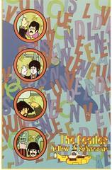 Postcrossing US-5971690 (booboo_babies) Tags: beatles cartoon yellowsubmarine 1960s movie film portholes postcrossing submarine