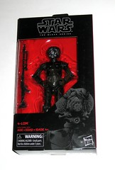star wars the black series 6 inch action figure #67 4-lom the empire strikes back hasbro 2018 misb a (tjparkside) Tags: 4lom 4 lom star wars black series 6 inch action figure 67 empire strikes back tesb esb red packaging hasbro 2017 2018 dlt19 blaster blasters rifle rifles droid rusty episode 5 v five bounty hunter hunters han solo darth vader zuckuss insectile protocol mechanical misb