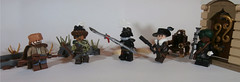 Figbarf: Alt-Steampunk (Dan The Imposter) Tags: lego steampunk weapon muskets minifig minifigures background neato principality moretocome nomads