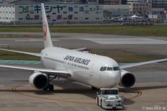 Fukuoka Airport 2019.4.13 (39) (double-h) Tags: omd em1markii omdem1markii lumixgxvariopz45175mmf4056asphpowerois rjff fuk fukuokaairport 福岡空港 airplane 飛行機 observationdeck 展望デッキ