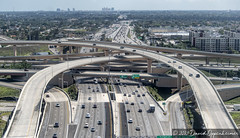 Dolphin Expressway in Miami Overpass Interchange and Viaduct Aerial (Performance Impressions LLC) Tags: overpass interchange expressway overpassaerial miamioverpass miamiairportoverpass 836 826 dolphinexpressway viaduct miamiinternationalairport travel transportation bridge bridges driving drive commute traffic highway 17567900941 architecture engineering ramps miami florida unitedstates