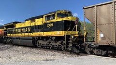 NS 1069 (Christian Schnake) Tags: bnsf ns 1069 rwsx coal train everton mo ft scott sub heritage
