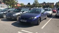 Cougar (Sam Tait) Tags: ford cougar 25 v6 coupe blue car retro rare 2001 petrol