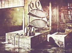 WhIrlWInd Of blACK WAtErS (☺ ChimKami ☺ Rushing In Slow Motion !) Tags: dark chimkami chim metaverse 3d sl secondlife photography art photoshop artwork digitalart light virtual mesh shadow dream scene imagination creativity design awesome stylish magical magic fantasie tale fantasy wind sea water sim landscape exploring outside nature umi tokyostreet skip asian port float paradoxivory dox photogenic