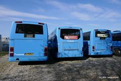 Scania Lahti Flyer + Volvo B12M Ajokki 8700 + Scania Lahti Flyer (Kim-B10M) Tags: arriva midttrafik 2720 2894