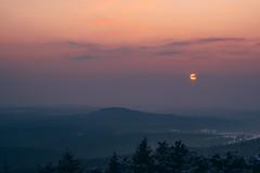 Z Klínovce. (Robert Hájek) Tags: krusnehory mountain nature landscape sunset sun evening czphoto czech czechrepublic clouds sonya7iii sony