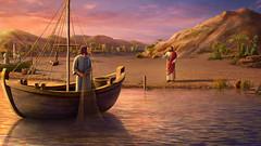 Come Pietro arrivò a conoscere Gesù (eshao5721) Tags: pietro signoregesù mare montagna seguire dio lachiesadidioonnipotente dioonnipotente