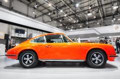 Porsche 911 (Ralf Westhues) Tags: essen techno classica technoclassica oldtimer youngtimer messe ausstellung exposition gruga porsche 911 orange