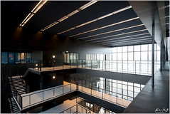 University Library Interior (Peter Heuts) Tags: utrecht university universiteit uni universität campus peterheuts photography fotografie sony a99ii a99 mark2 fullframe sal1635cz architecture architectuur architektur city stad stadt ville nederland netherlands nederlands paysbas olanda april 2019