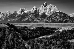 Snake River and the Tetons (Michael Kerick) Tags: wyoming snakeriver grandteton