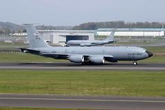 KC135  80042 (TF102A) Tags: usaf usairforce aviation aircraft airplane prestwick prestwickairport kc135 80042