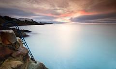Vico Baths Sunrise (Kevin.Grace) Tags: vicobaths killiney dublin ireland sunrise ladder landscape seascape long exposure