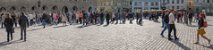 a lot of people panorama (Seerin Kama) Tags: street people lot panorama tallinn