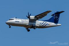 "YR-ATC   TAROM (""SkyTeam"" livery)   ATR 42-500   BUD/LHBP (Tushka154) Tags: hungary specialscheme spotter atr ferihegy budapest tarom skyteam aerospatiale yratc atr42500 atr42 aerospatialeatr42 aircraft airplane avgeek aviation aviationphotography budapestairport lhbp lisztferencinternationalairport planespotter planespotting romanianairtransport spotting"