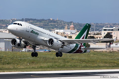 Alitalia Airbus A319-112  |  EI-IMB  |  LMML (Melvin Debono) Tags: alitalia airbus a319112 | eiimb lmml cn 2033