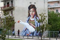 Ένα πολύ όμορφο έργο του σπουδαίου Βέλγου καλλιτέχνη Siegfried Vynck κοσμεί από τις 19/4/2019 την πόλη της Λιβαδειάς (A very beautiful work by the great Belgian artist Siegfried Vynck adorns the city of Livadeia on 19/4/2019). (Giannis Giannakitsas) Tags: siegfried vynck greece grece griechenland λιβαδεια livadeia γκραφιτι graffiti
