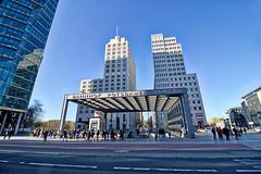 Berlin - Potsdamer Platz (www.nbfotos.de) Tags: berlin potsdamerplatz bahnhof architektur architectur