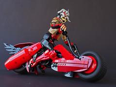 RESIST-BOISTEROUS IV (Eero Okkonen) Tags: lego moc scifi bike motorbike motorcycle
