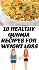 10 Healthy Quinoa Recipes For Weight Loss (healthylife2) Tags: 10 healthy quinoa recipes for weight loss
