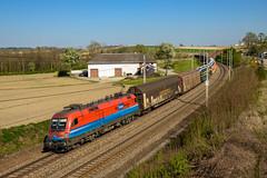 "1116 045 ""Rail Cargo Hungaria"" (139 310) Tags: np öbb tfz gag 1116 evu kbs zugnummer kbs150 österreich gag47124 1116045 passauerbahn taurus wallernandertrattnach oberösterreich"