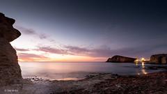 La Isleta del Moro IV (Toni de Ros) Tags: cabodegata laisletadelmoro largaexposición amanecer sunrise marina playa luces nubes