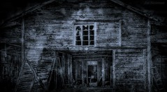 The Farmer's Loft (JDS Fine Art Photography) Tags: spooky haunted haunting creepy abandoned chiller night nightmare hauntedhouse