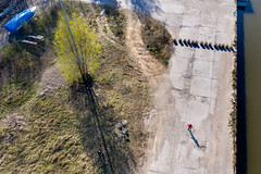 Bike trip (piotr_szymanek) Tags: marzka outdoor drone fromabove port water bike piotr 1k 20f