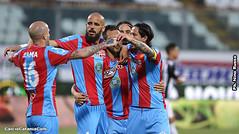 Esultanza gol lodi (calciocatania) Tags: catania sicula leonzio serie c stadio massimino lega pro calcio