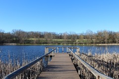 The End of the Dock (KateMo1989) Tags: water pond wooden dock nature spring