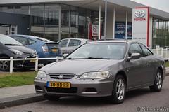 2001 Honda Accord Coupé (NielsdeWit) Tags: nielsdewit car vehicle honda accord coupe coupé 2001 veenendaal favourite 99phbk