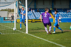 Nuneaton Boro FC vs Altrincham FC - April 2019-214 (MichaelRipleyPhotography) Tags: altrincham altrinchamfc altrinchamfootballclub alty ball community fans football footy goal header kick league libertywaystadium nationalleaguenorth nonleague nuneatonborofc pass pitch preseason referee robins save score semiprofessional shot soccer stadium supporters tackle team vanarama