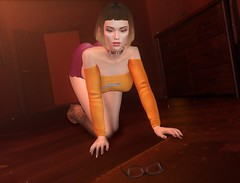 Jinkies! (EnviouSLAY) Tags: scoobydoo velma cosplay sexy orange red brown boots nerd scene secondlifefashion secondlifephotography newreleases new releases burley evie riot belleza freya genus classic ascendant nails makeup eyeshadow gloss lipstick lipgloss letre pinkfuel choker collar bento equal10 equal 10 monthlyevent monthlyfashion monthlyfair monthly fair fashion event pale female male gay lgbt blogger secondlife second life photography colivatibeauty colivati beauty