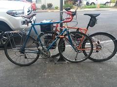 Rambouillet (Tysasi) Tags: rivendell rambouillet emergencyrandonneuse bespokefopchariottm 650b 700c randonneuse randonneur bike shopping compareandcontrast
