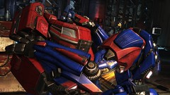 Soldier Sorrow #1 (BarricadeCaptures) Tags: transformers transformersfallofcybertron transformersfoc fallofcybertron fallofcybertrondefendtheark defendtheark centralspaceport optimusprime optimus autobotleader autobotoptimusprime autobotoptimus transformersoptimusprime transformersoptimus autobotsoldier gamescreenshots gamephotography videogame screencapture screenshot screencap