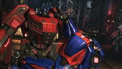 Soldier Sorrow #2 (BarricadeCaptures) Tags: transformers transformersfallofcybertron transformersfoc fallofcybertron fallofcybertrondefendtheark defendtheark centralspaceport optimusprime optimus autobotleader autobotoptimusprime autobotoptimus transformersoptimusprime transformersoptimus autobotsoldier gamescreenshots gamephotography videogame screencapture screenshot screencap