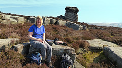 20190419ymd Wlk frm Fox Hse_0006 Carol~Mother Cap (paul_slp5252) Tags: darkpeak southyorkshire walking hiking mothercap