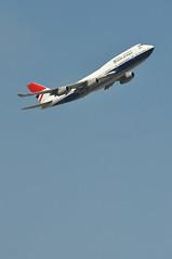 'BA04A' (BA0177) LHR-JFK (A380spotter) Tags: takeoff departure climb climbout bank banking turn boeing 747 400 gcivb negus19741980 negusnegus britishairways10019192019 centenary retrocolours livery scheme retrojet 2019 ba100 baretrojet internationalconsolidatedairlinesgroupsa iag britishairways baw ba ba04a ba0177 lhrjfk runway09r 09r london heathrow egll lhr