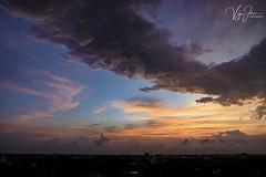 Never miss a beautiful sunset (V I J U) Tags: fujifilm xt2 mirrorless thrissur kerala india xf1855mmf284 landscape dusk sunset clouds rain velvia
