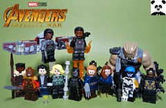 The Battle of Wakanda [Infinity War - #09] (HaphazardPanda) Tags: lego figs fig figures figure minifigs minifig minifigures minifigure purist purists comics comic book books story group super hero heroes superhero superheroes marvel mcu avengers infinity war endgame captain america iron man spiderman machine falcon vision scarlet witch white wolf winter soldier okeye black panther shuri nomad widow thor bruce banner hulk groot guardians galaxy rocket raccoon gamora nebula doctor strange starlord quill drax mantis wong gauntlet stones thanos stormbreaker character characters