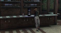 #58 (Leon Miranda) Tags: storeprisma dg store varsity pose bottle dispenser pants tank