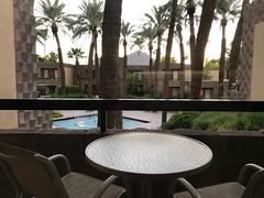 (procrast8) Tags: phoenix az arizona scottsdale doubletree hilton hotel paradise valley resort camelback mountain balcony pool fountain