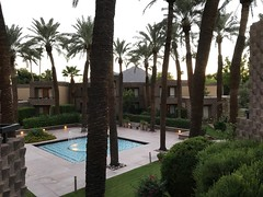 (procrast8) Tags: phoenix az arizona scottsdale doubletree hilton hotel paradise valley resort camelback mountain pool fountain