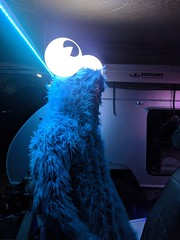 Cookie at Fuzzyland (RobotSkirts) Tags: eliot eliotphillips cookie cookiemonster costume