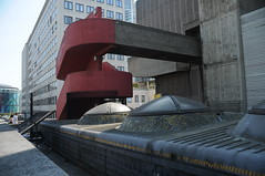 Architectural features at Southbank Centre, London (girasombra) Tags: