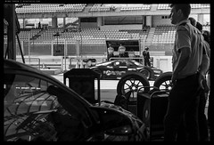 _Z717839 copy (mingthein) Tags: thein onn ming photohorologer mingtheincom availablelight pitlane gt3 racing sepang malaysia cars bw blackandwhite monochrome nikon z7 24120vr