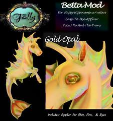 Folly_HippocampusMod_BettaAdGoldOpal (Cane's Folly SL) Tags: cane sutter second life happy hippocampus avatars texture mods betta