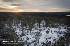 Ounasvaara lookout - Rovaniemi, Finland (Naomi Rahim (thanks for 4.7 million visits)) Tags: ounasvaara rovaniemi finland finnishlapland europe scandinavia arctic arcticcircle snow hikingtrail 2018 forest trees travel travelphotography nikon nikond7200 sunset sun clouds horizon 1116mm nature